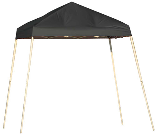 ShelterLogic Pop-Up Canopy HD - Slant Leg 8 x 8 ft. Black
