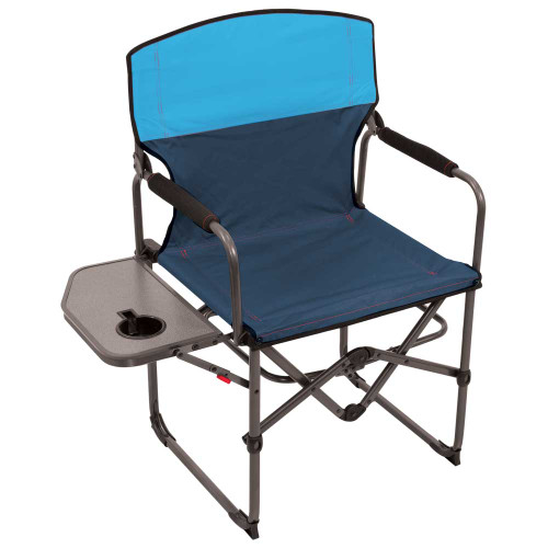 RIO Gear Broadback Oversized Camping Folding Chair - Blue Sky/Navy