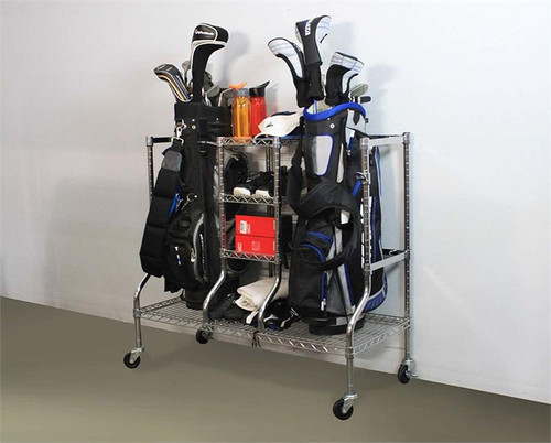 SafeRacks Golf Equipment Organizer