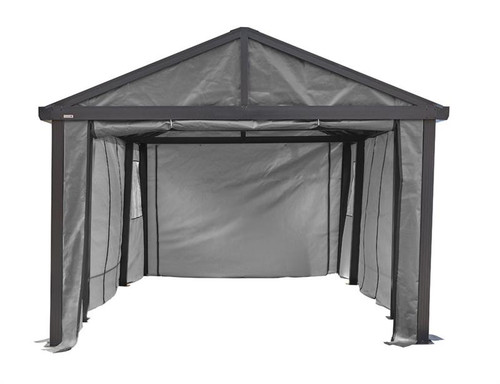 Sojag Samara Enclosure Kit 12x20 (Carport Sold Separately)