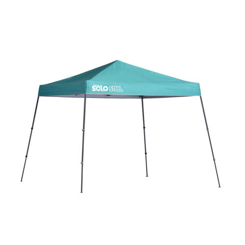 Quik Shade Solo Steel 64 10 x 10 ft. Slant Leg Canopy - Turquoise