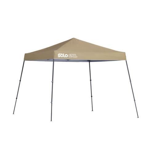 Quik Shade Solo Steel 64 10 x 10 ft. Slant Leg Canopy - Khaki