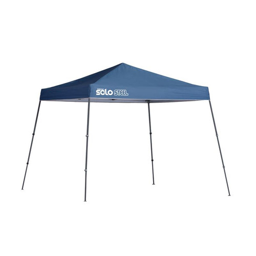 Quik Shade Solo Steel 64 10 x 10 ft. Slant Leg Canopy - Midnight Blue