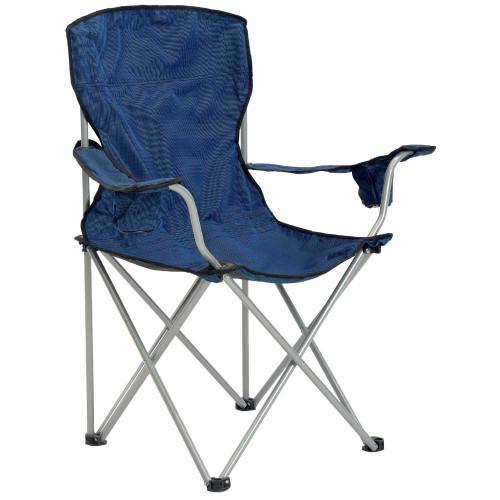 Quik Chair Deluxe Folding Chair - Navy/Black