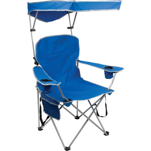 Quik Chair Full Size ShadeFolding Chair - Royal Blue