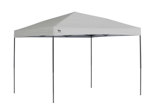 Quik Shade ST100 10 x 10 ft. Straight Leg Canopy - Grey