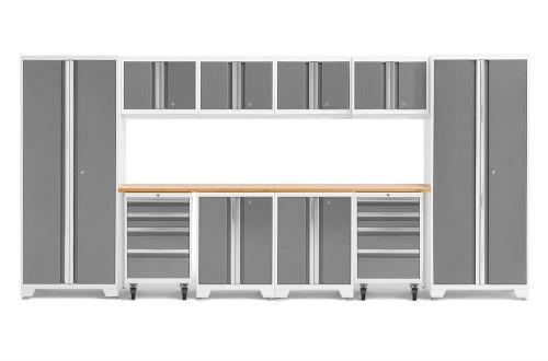 NewAge Bold 3.0 White 12 Piece Set w/Bamboo Worktop