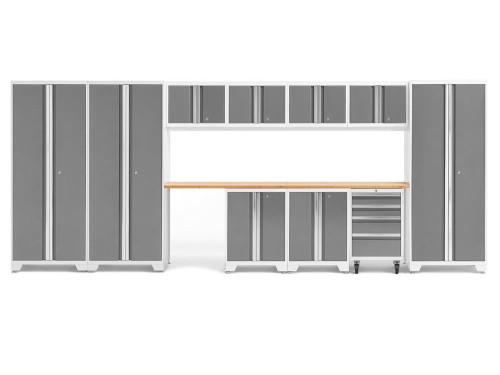 NewAge Bold 3.0 White 12-Piece Set w/Bamboo Worktop