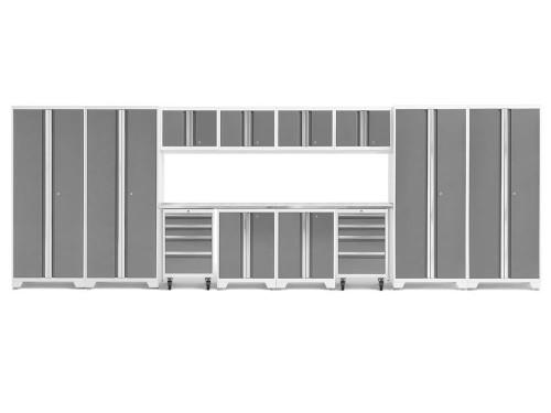 NewAge Bold 3.0 White 14 Piece Set w/Stainless Steel Worktop