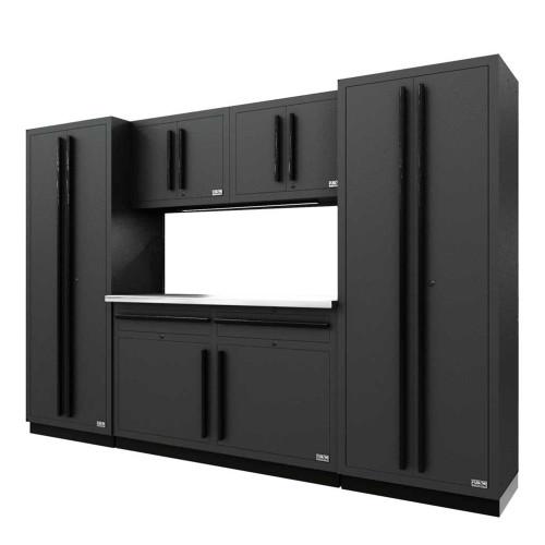 Proslat Fusion PRO 6 Piece Cabinet Set - Black