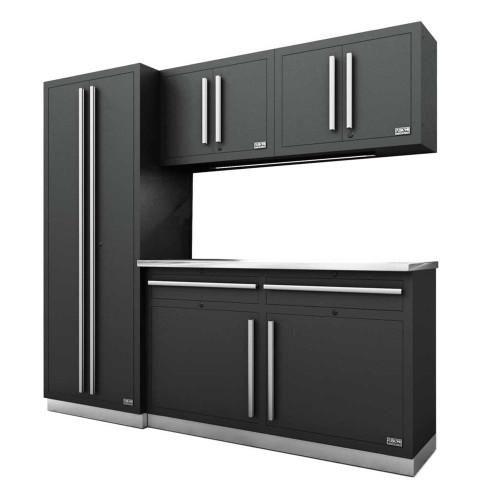 Proslat Fusion PRO 5 Piece Cabinet Set - Silver