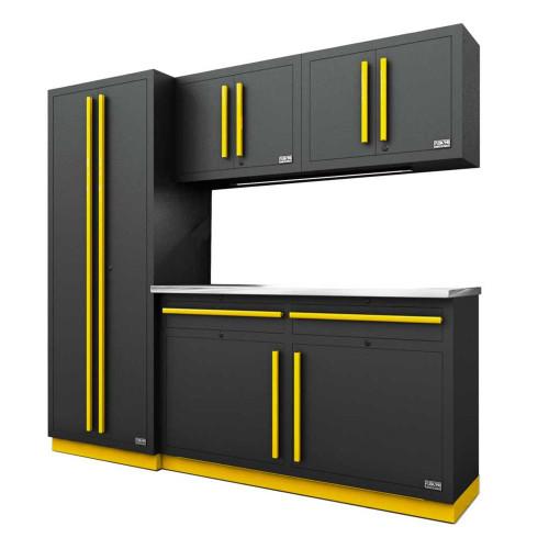 Proslat Fusion PRO 5 Piece Cabinet Set - Yellow