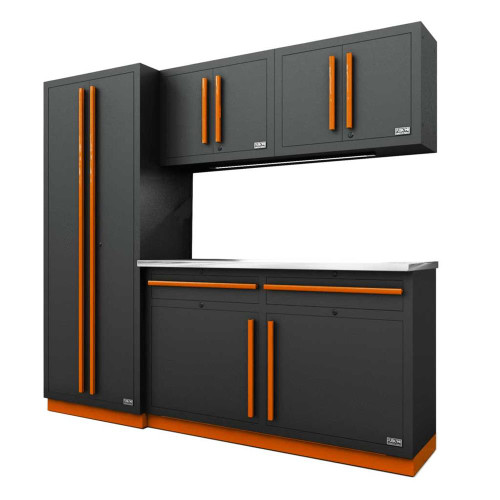 Proslat Fusion PRO 5 Piece Cabinet Set - Orange
