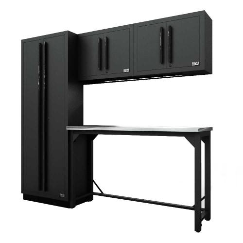 Proslat Fusion PRO 5 Piece Work Bench Set - Black