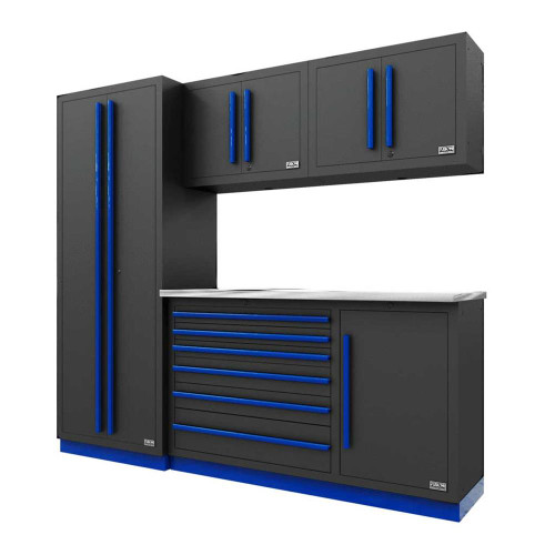Proslat Fusion PRO 5 Piece Tool Chest Set - Blue