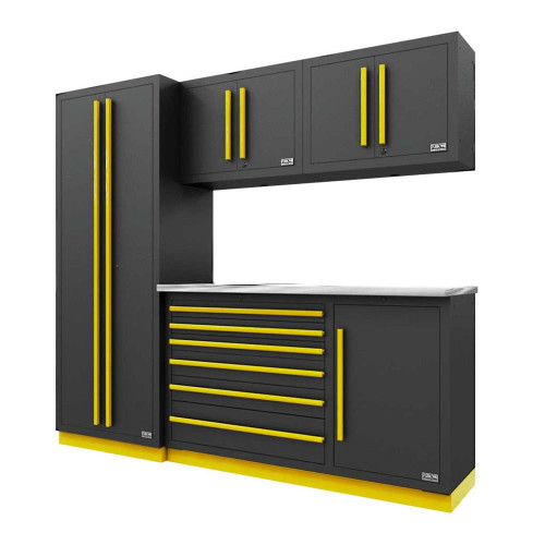 Proslat Fusion PRO 5 Piece Tool Chest Set - Yellow
