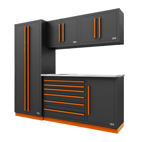 Proslat Fusion PRO 5 Piece Tool Chest Set - Orange