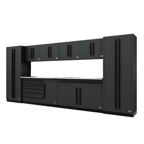 Proslat Fusion PRO 10 Piece Max Cabinet Set - Black