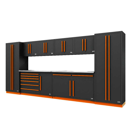 Proslat Fusion PRO 10 Piece Max Cabinet Set - Orange