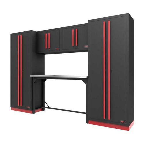 Proslat Fusion PRO 6 Piece Work Bench Set - Barrett-Jackson Red