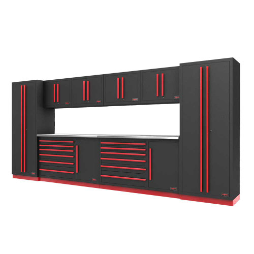 Proslat Fusion PRO 10 Piece Tool Chest Set - Barrett-Jackson Red