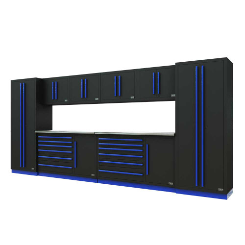 Proslat Fusion PRO 10 Piece Tool Chest Set - Blue