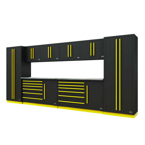 Proslat Fusion PRO 10 Piece Tool Chest Set - Yellow