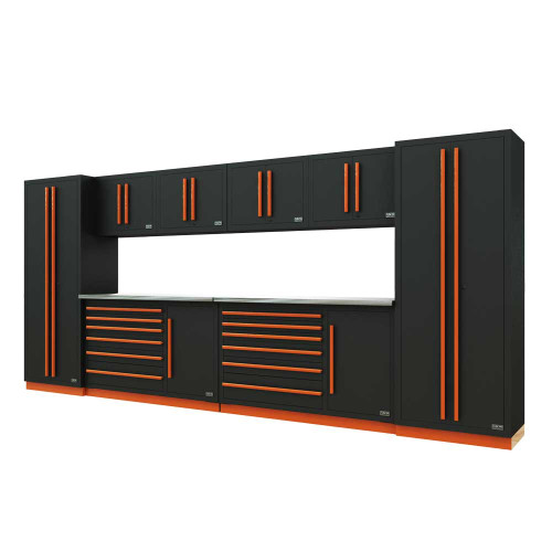 Proslat Fusion PRO 10 Piece Tool Chest Set - Orange