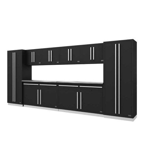 Proslat Fusion PRO 10 Piece Cabinet Set - Silver