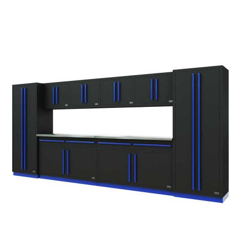 Proslat Fusion PRO 10 Piece Cabinet Set - Blue