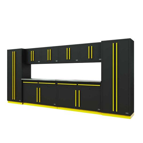 Proslat Fusion PRO 10 Piece Cabinet Set - Yellow