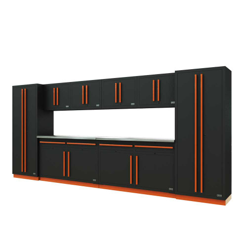 Proslat Fusion PRO 10 Piece Cabinet Set - Orange
