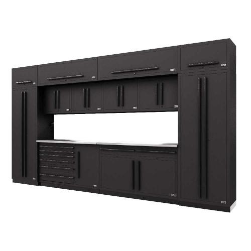 Proslat Fusion PRO 14 Piece Max Cabinet Set - Black