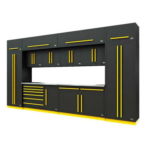 Proslat Fusion PRO 14 Piece Max Cabinet Set - Yellow
