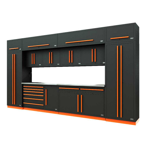 Proslat Fusion PRO 14 Piece Max Cabinet Set - Orange