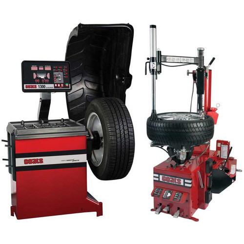 Coats RC-55 Rim Clamp Tire Changer + Coats 1300-2D Direct Drive Wheel Balancer Combo
