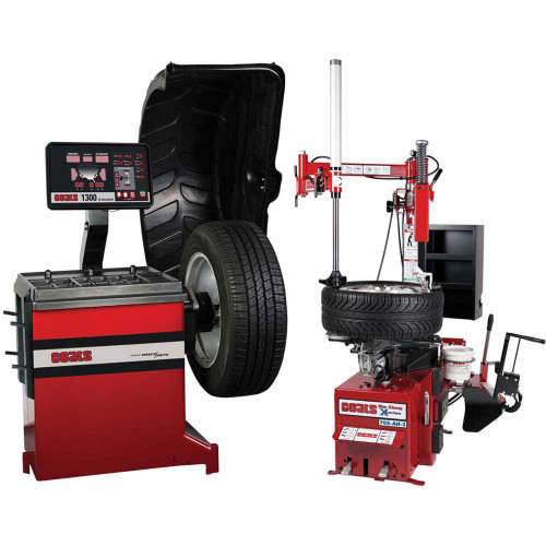 Coats 70X-3 Rim Clamp Tire Changer + Coats 1300-2D Direct Drive Wheel Balancer Combo