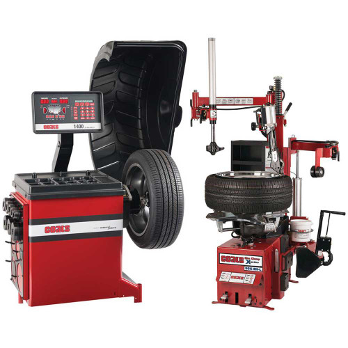 Coats 90X Rim Clamp Tire Changer + Coats 1400-2D Direct Drive Wheel Balancer Combo