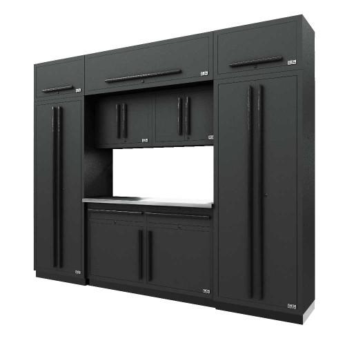 Proslat Fusion PRO 9 Piece Cabinet Set - Black