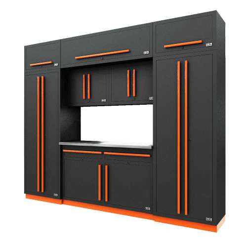 Proslat Fusion PRO 9 Piece Cabinet Set - Orange