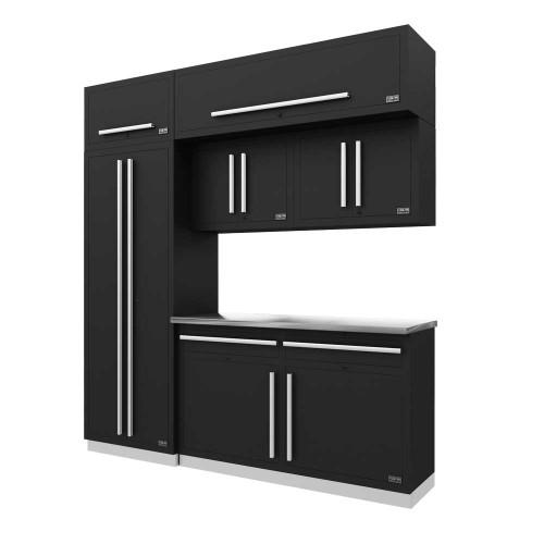 Proslat Fusion PRO 7 Piece Cabinet Set - Silver