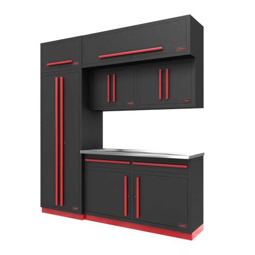 Proslat Fusion PRO 7 Piece Cabinet Set - Barrett-Jackson Red