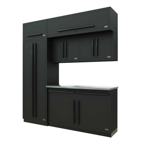 Proslat Fusion PRO 7 Piece Cabinet Set - Black
