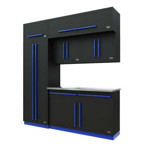 Proslat Fusion PRO 7 Piece Cabinet Set - Blue