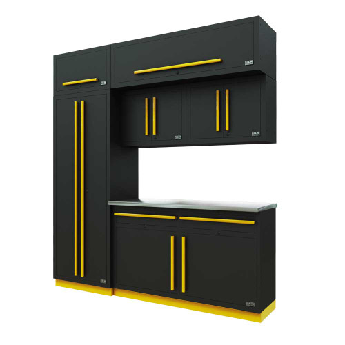 Proslat Fusion PRO 7 Piece Cabinet Set - Yellow