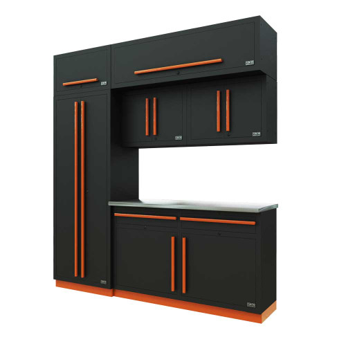 Proslat Fusion PRO 7 Piece Cabinet Set - Orange