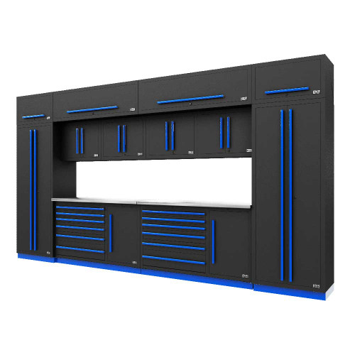 Proslat Fusion PRO 14 Piece Tool Chest Set - Blue