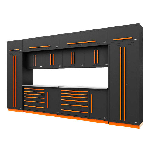 Proslat Fusion PRO 14 Piece Tool Chest Set - Orange