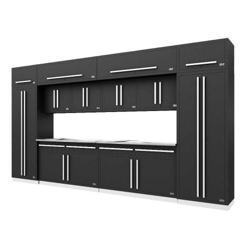 Proslat Fusion PRO 14 Piece Cabinet Set - Silver