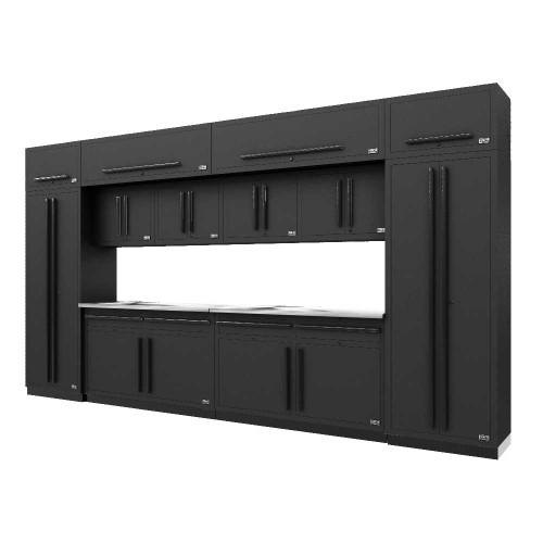 Proslat Fusion PRO 14 Piece Cabinet Set - Black